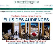El Huffington Post francés recibe más de 5 millones de visitas