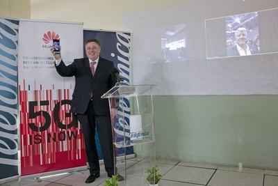 Primera videollamada internacional entre operadoras de Telefónica con 5G