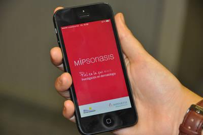Una aplicación ayudará a controlar la psoriasis