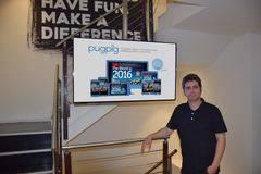Miguel Gallego, General Manager de PugPig para España y Latinoamérica, en las oficinas de la compañía.