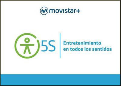 Telefónica presenta Movistar+ 5S para personas con discapacidad sensorial