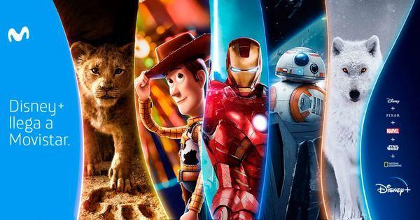 Movistar ya incluye Disney+ en su oferta de contenidos