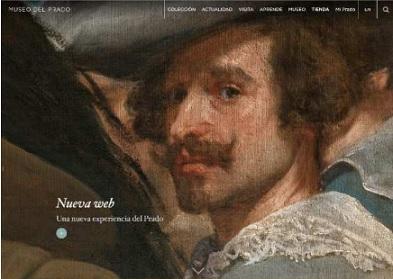 El Museo del Prado se sitúa a la vanguardia de los museos en la Red