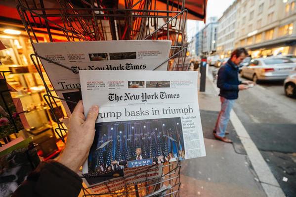 El New York Times comienza a experimentar la personalización de contenidos