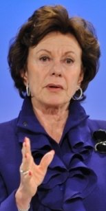Neelie Kroes, vicepresidenta Comisón Europea