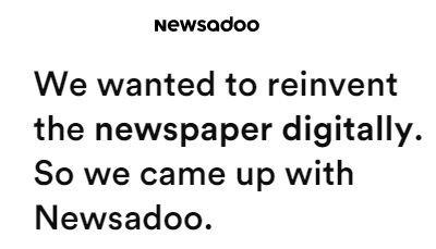 Así es 'Newsadoo', el ansiado y esperado Spotify de las noticias