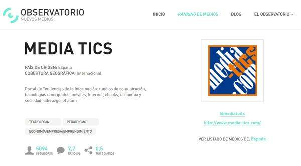 Nace 'El Observatorio de Nuevos Medios' en español