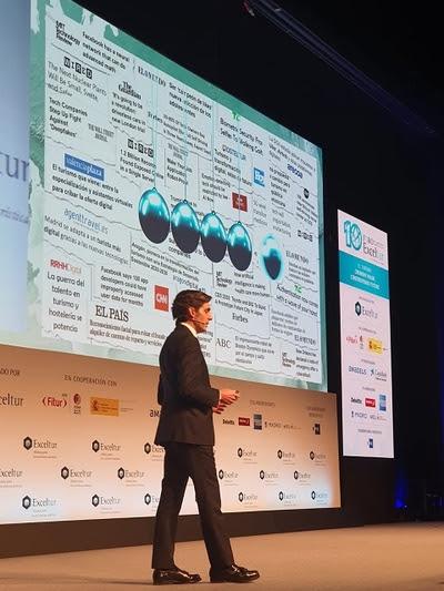 """Álvarez-Pallete: """"El turista ya es digital y la tecnología está construyendo el futuro del turismo y los viajes"""""""