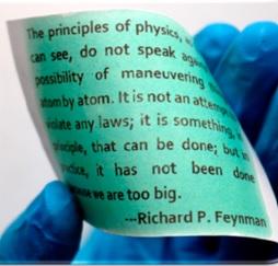 Científicos estadounidenses crean papel reescribible