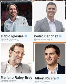 Pablo Iglesias, el líder mejor valorado en Twitter