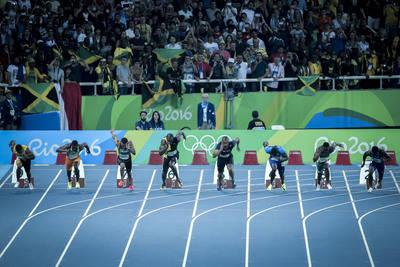 Los 100 metros es la prueba más carismática del atletismo