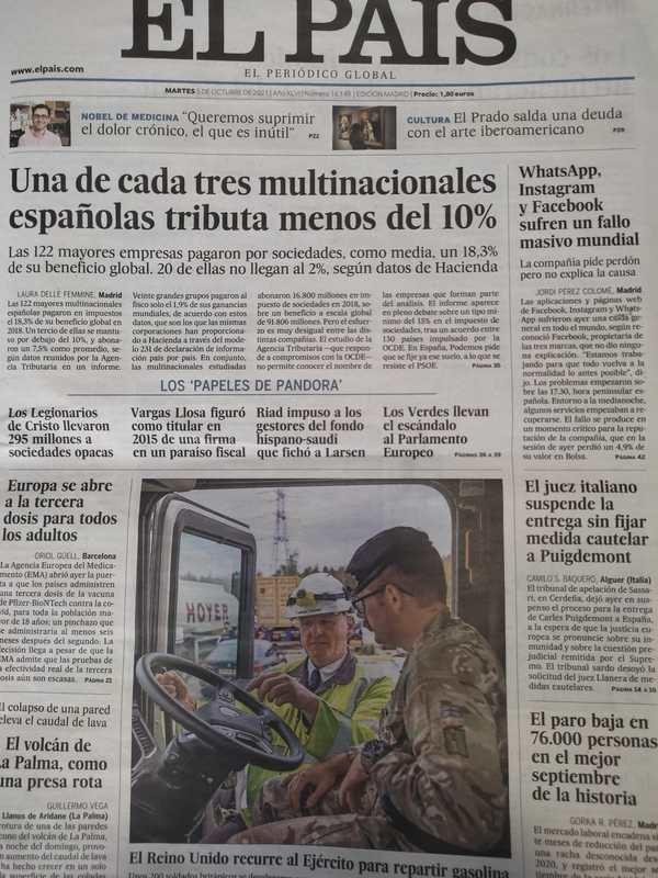 """El nuevo-viejo diario """"El País"""""""