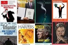 Las portadas de la prensa (seria) se ceban con Trump
