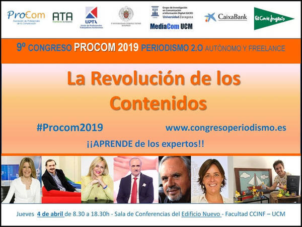 La revolución de los contenidos, a debate en el 9º Congreso Nacional de Periodismo Autónomo y Freelance