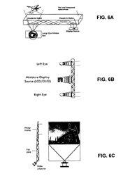 Otro diseño del prototipo de las gafas pantalla. (Foto: Apple)
