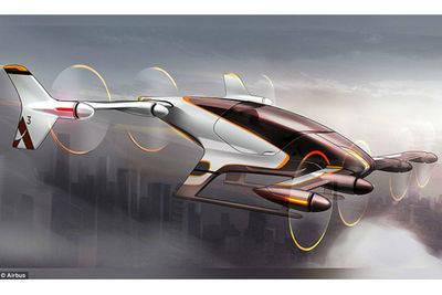 Airbus prepara una aeronave unipersonal y autónoma