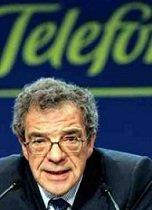 Cesar Alierta, presidente ejecutivo de Telefónica