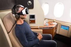 Una aerolínea australiana ofrece a los pasajeros experiencias de realidad virtual
