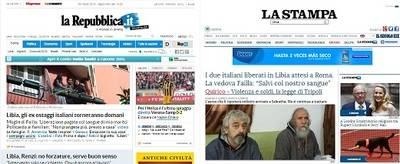 Bodas y divorcios en la prensa italiana