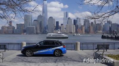 El coche sin conductor de Delphi cruza EE UU de costa a costa