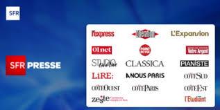Cambios en la oferta y difusión del quiosco digital SFR Press