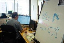 Scott Klein, editor de aplicaciones para noticias. (Foto: ProPublica)