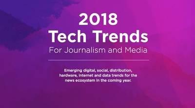 Tendencias Tecnológicas para el Periodismo 2018