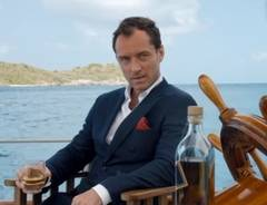 Jude Law en el corto del whisky Johnnie Walker