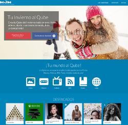 La red social española beQbe supera el ritmo de crecimiento de Pinterest