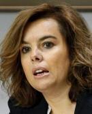 Soraya Sáez de Santamaría, vicepresidenta del Gobierno