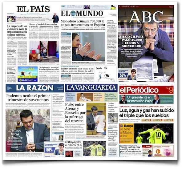 ¿Cuánto cuestan las suscripciones a periódicos en España?