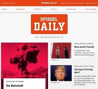 'Der Spiegel' lanza un diario digital de pago
