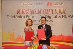 Huawei y Telefónica Educación Digital firman un acuerdo para el desarrollo del talento