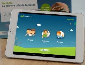 Telefónica Learning Services lanza la tableta familiar weShare