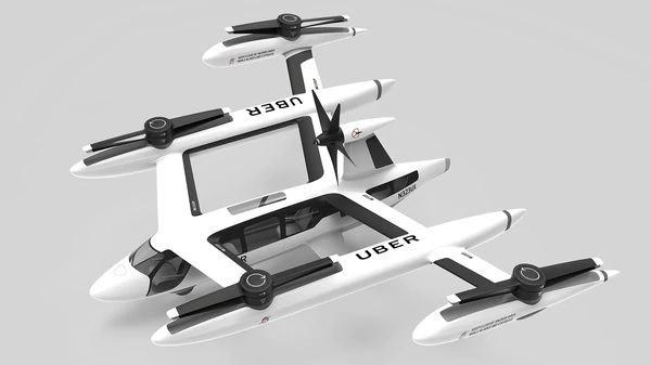 Uber presenta taxis voladores y los quiere en funcionamiento en 2023
