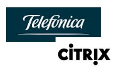 Telefónica y Citrix facilitan a las empresas la virtualización del puesto de trabajo