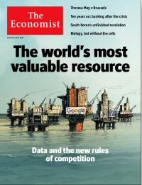 Portada de The Economist sobre la Data Economy
