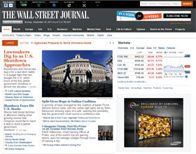"""The Wall Street Journal"" rediseña su web y lanza una app para Apple Watch"