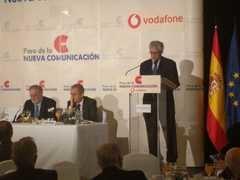 Nemesio Rodríguez interviene en el Foro de la Nueva Comunicación, organizado por Nueva Economía Forum.