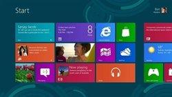Pantallazo de Windows 8. (Foto: Microsoft)