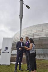 Ericsson prueba la farola conectada