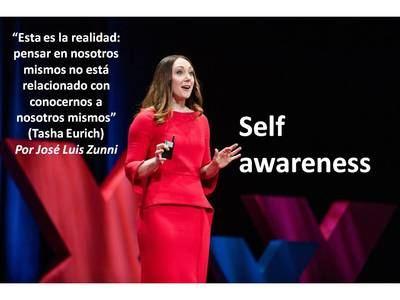 """""""Esta es la realidad: pensar en nosotros mismos no está relacionado con conocernos a nosotros mismos"""". (Tasha Eurich)"""
