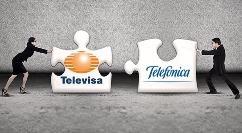 Telefónica y Televisa podrían formar una alianza
