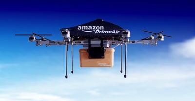 Amazon patenta drones para recargar tu coche eléctrico