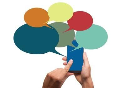 ¿Cómo utilizan los medios las aplicaciones de mensajería?