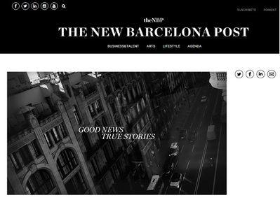 Nace la publicación digital 'The New Barcelona Post'