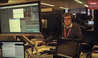 ¿Qué tecnología utiliza la BBC para aumentar su audiencia global?