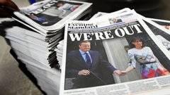 Incertidumbre en la prensa brit�nica tras el Brexit