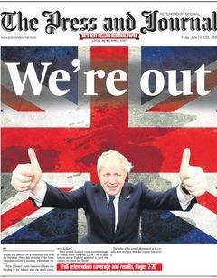 El Brexit fue un oasis para el papel