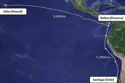 Alcatel-Lucent enlazará con cable submarino a América del Sur con el Pacífico